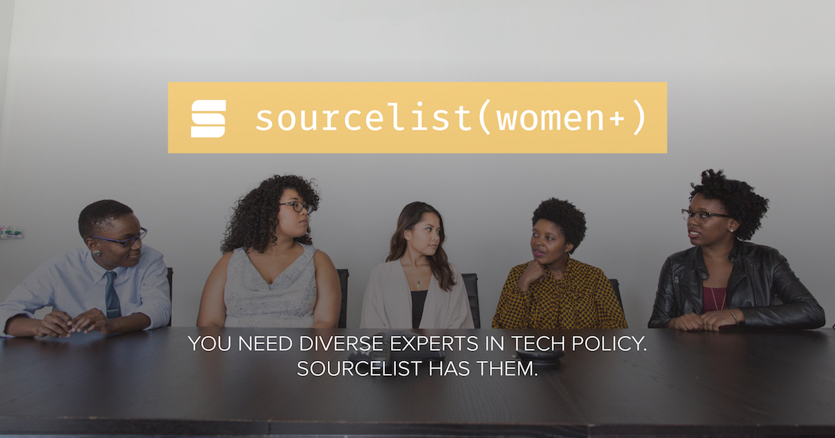 Sourcelist (Women+) Experts